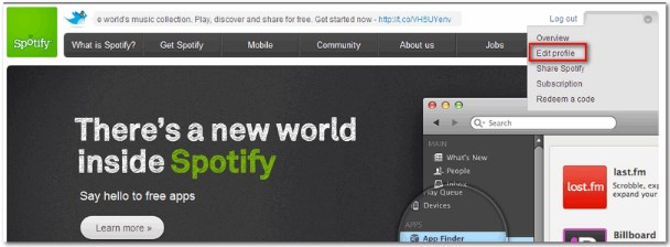 use spotify without facebook login
