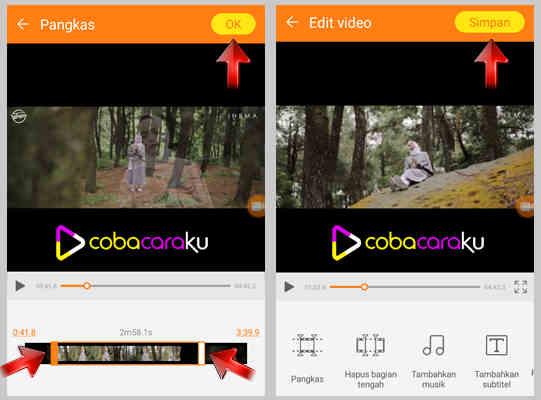 Cara Praktis Potong dan Edit Video di Handphone Android Cara Praktis Memotong dan Edit Video di Handphone Android