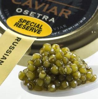 Caviar Ossetra berasal dari ikan Ossetra sturgeon
