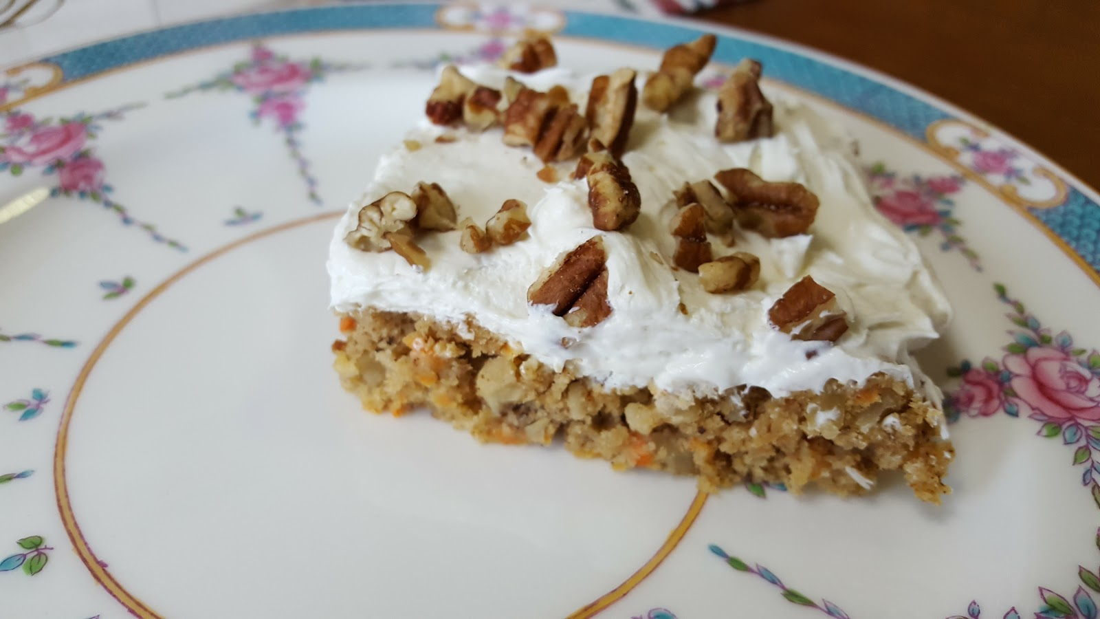 Recipe For Nutty Carrot Cake Cheesecake Bars
