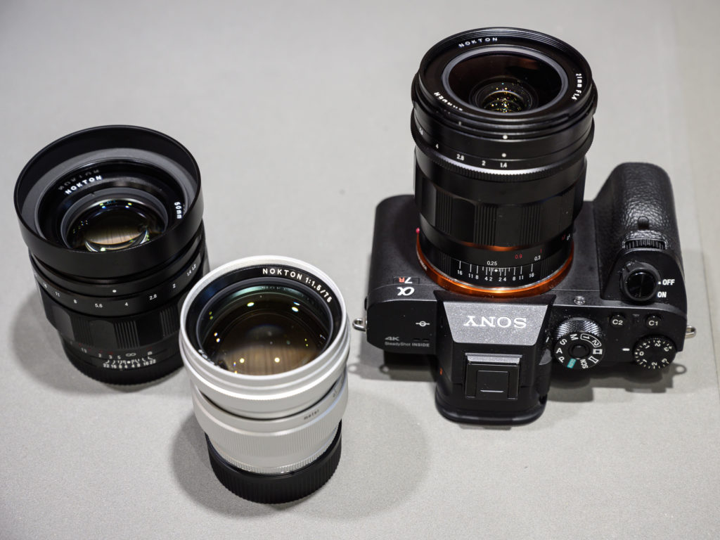 Объективы Voigtlander Nokton для камер Sony A7