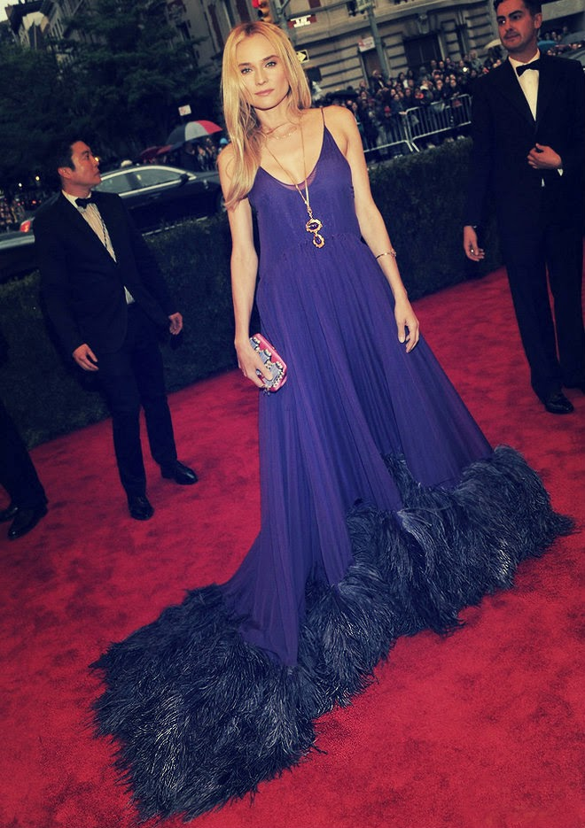 Diane Kruger in Prada Couture Gown