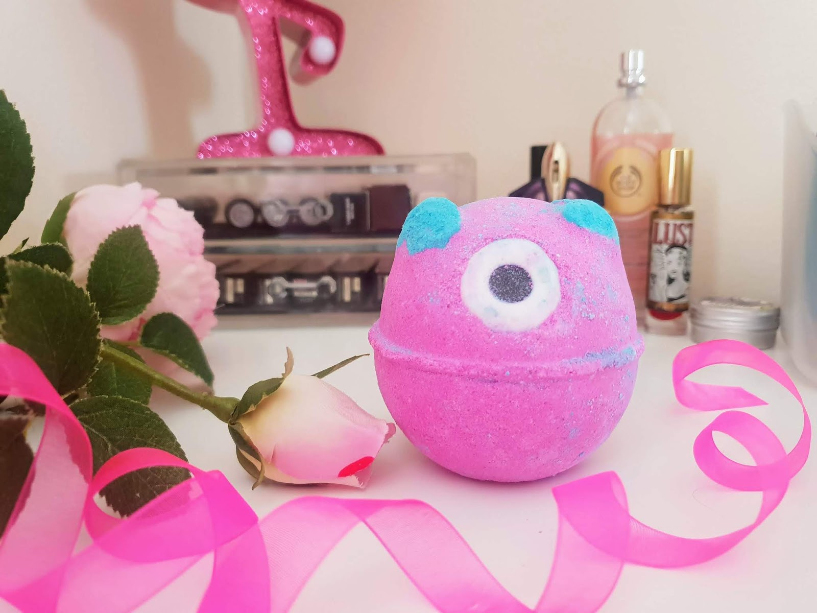 Lush monsters ball review