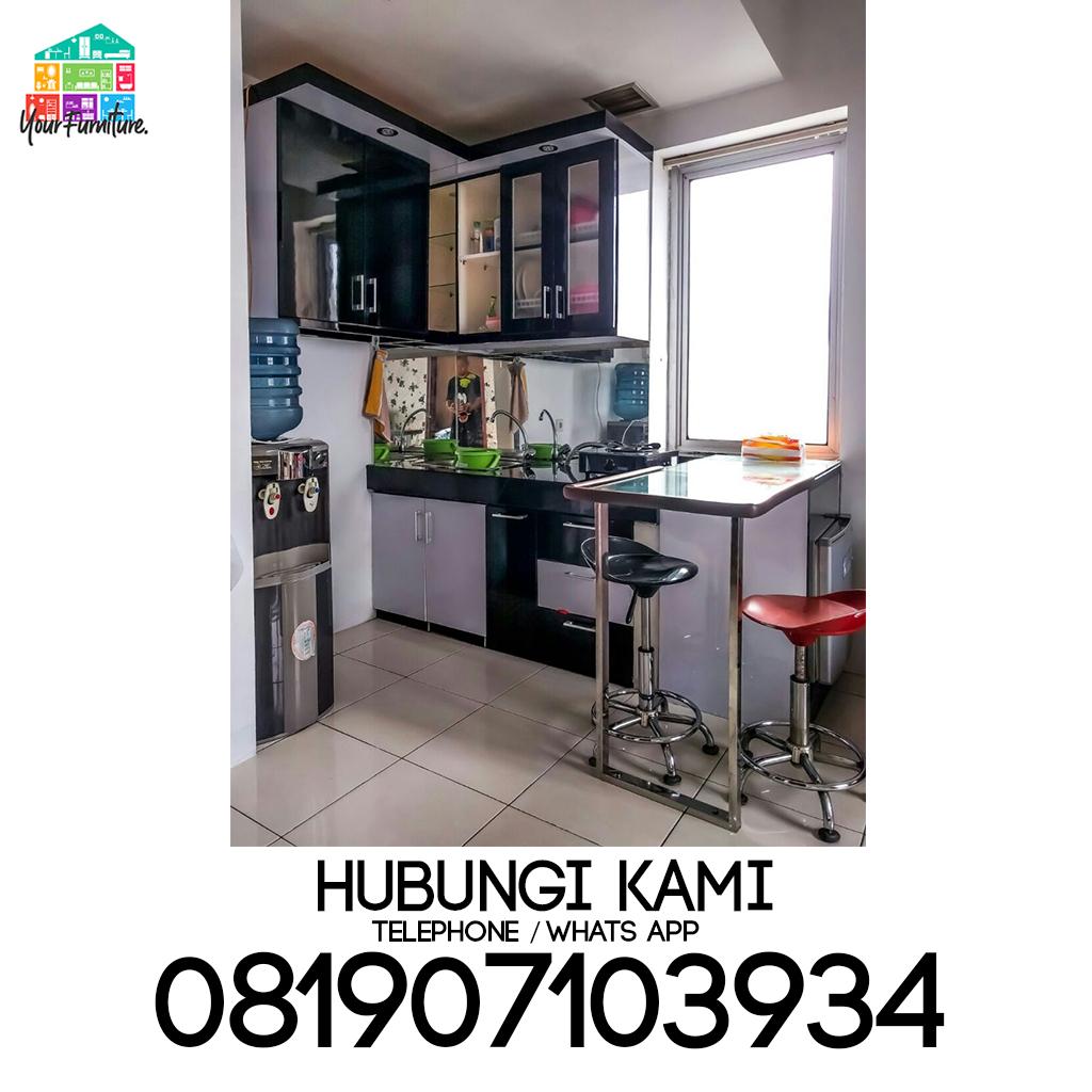 Kitchen Set Furniture Cilodong Membikin Kitchen Set Minimalis