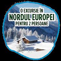 Castiga 3 excursii in Nordul Europei + 10 frigidere Electrolux (EN3854MOX ) de 357 litrii, Clasa A++
