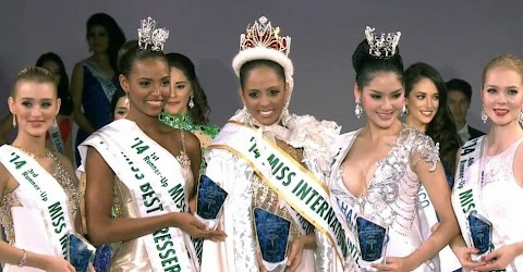 Puerto Rico es la nueva Miss International 2014