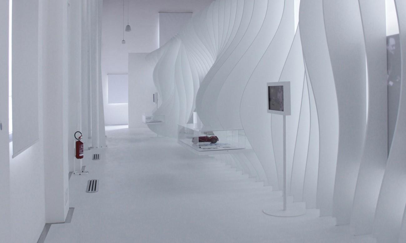 Exhibition Interior Design Enzo Ferrari House Exhibition