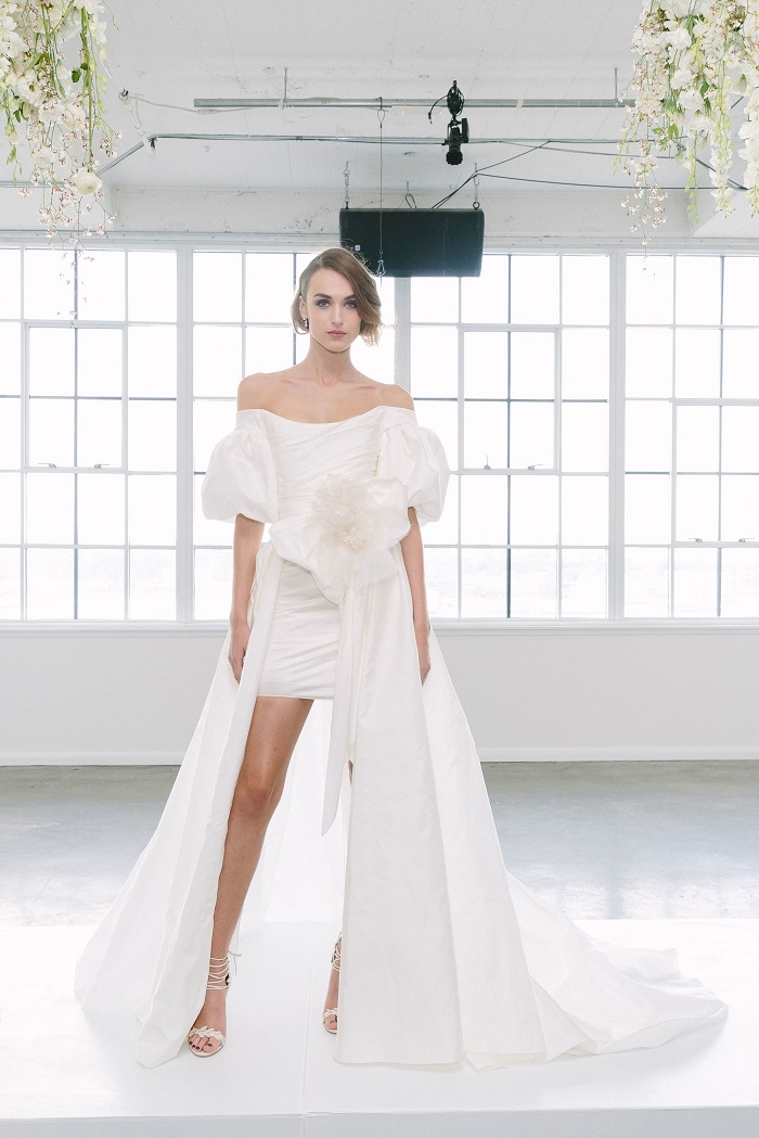 Marchesa Bridal Fall 2018 Collection at NYBFW