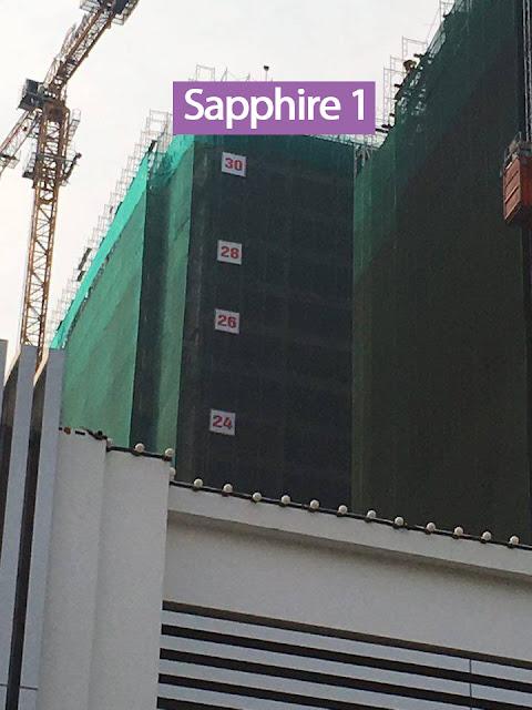 Tiến độ thi công Sapphire 1 Goldmark City