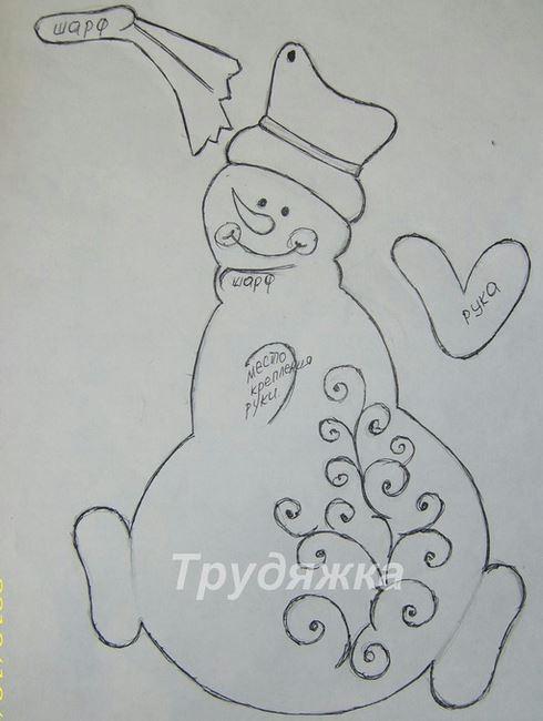 10 Moldes de adornos navideños para decorar con cartulina foami y ...