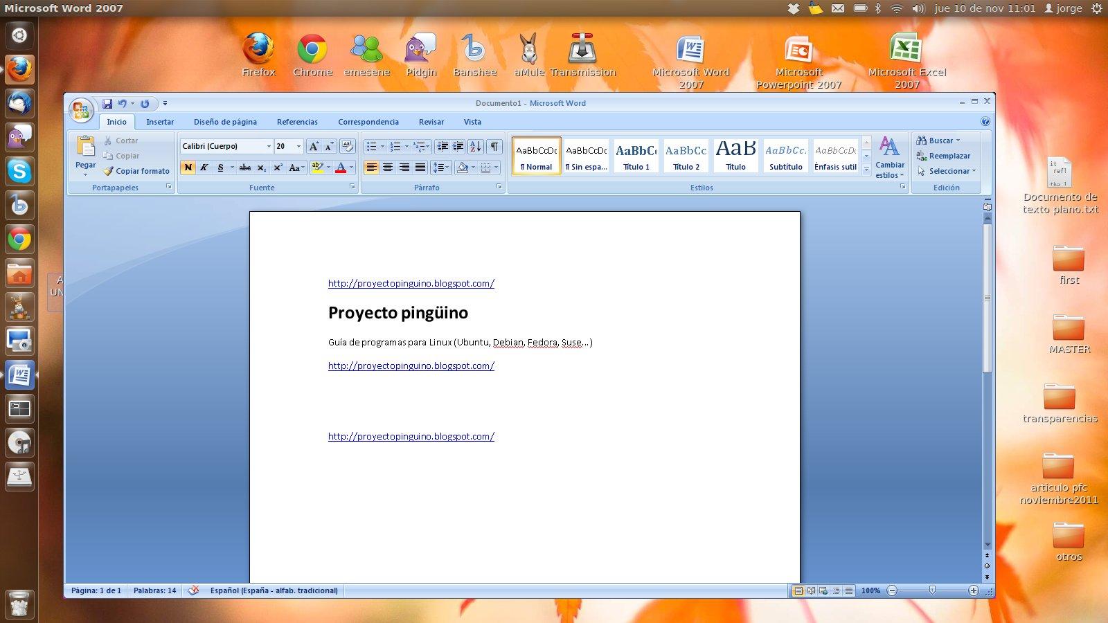 Procesadores de texto para Linux: Crea y edita documentos en formato ...