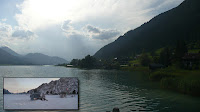 Austria, Location of James Bond 007 - The Living Daylights, Weissensee, Aston Martin chase