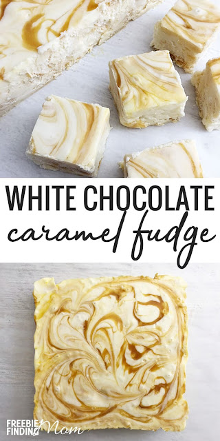 Delicious White Chocolate Caramel Fudge Recipe