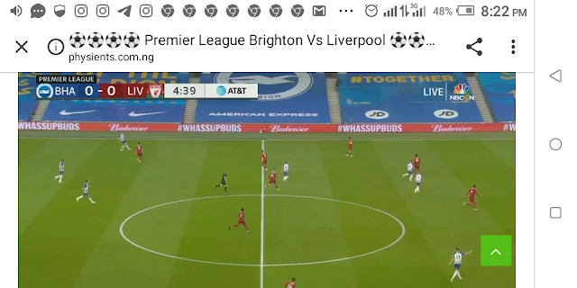 ⚽⚽⚽⚽ Premier League Brighton Vs Liverpool ⚽⚽⚽⚽