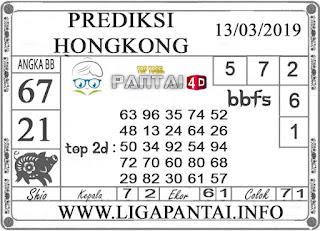 """Prediksi Togel """"HONGKONG"""" PANTAI4D 13 MARET 2019"""