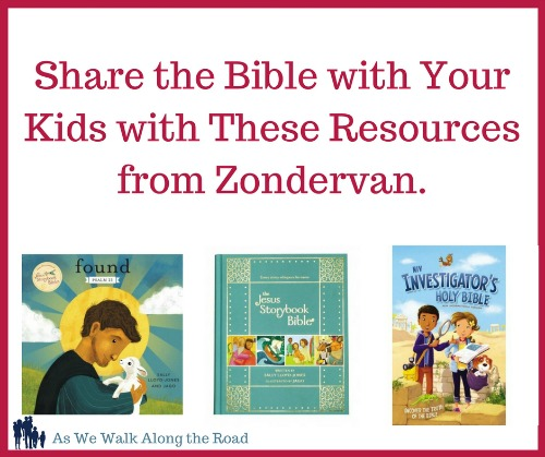 Review of Zondervan kids' Bible resources