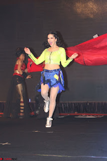 Sunny Leone Dancing on stage At Rogue Movie Audio Music Launch ~  342.JPG