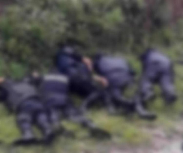 Condena CNDH ejecución de los 6 policías en Puebla.