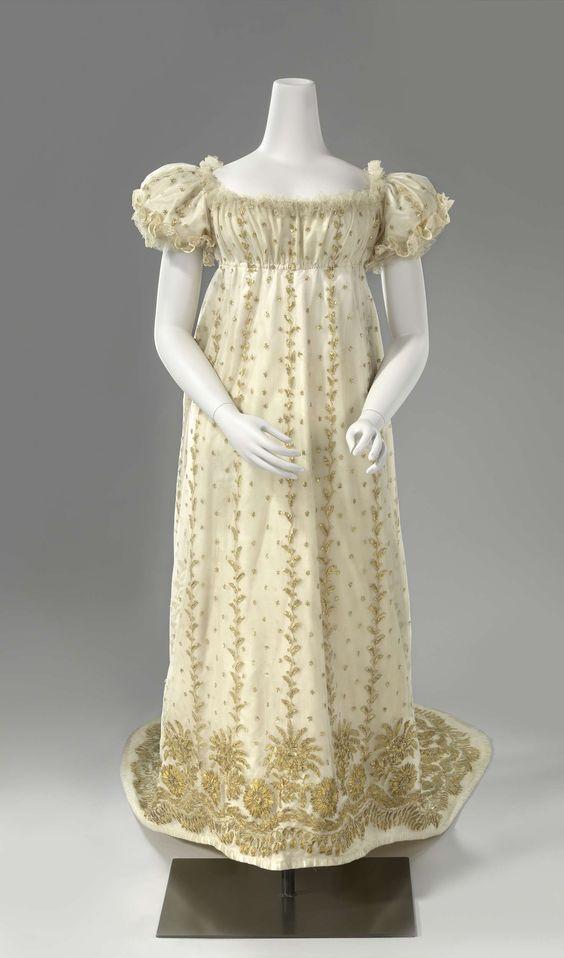 Jane Fox Historical Costumes Regency Ball Gown