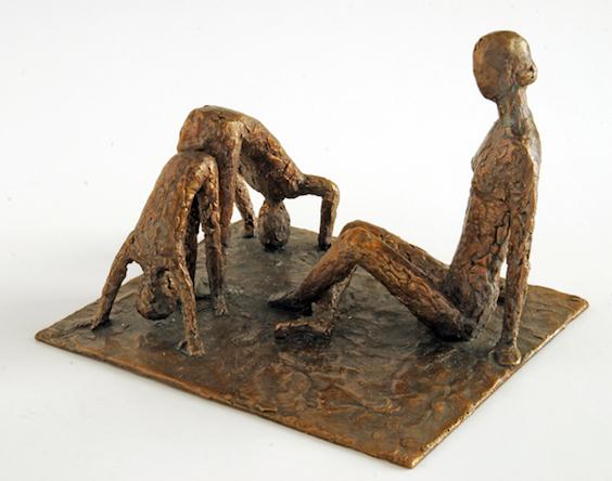 Lotte Olsen: Figurgruppe, bronze