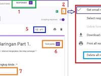 Cara Mengecek Response atau Tanggapan Soal/Kuesioner Google Forms yang Sudah diBuat