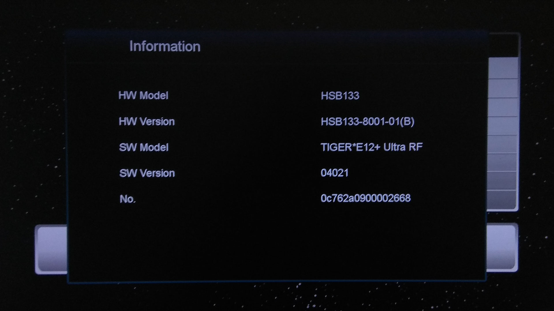Software Tiger Star E12 Plus Ultra RF New Update Firmware