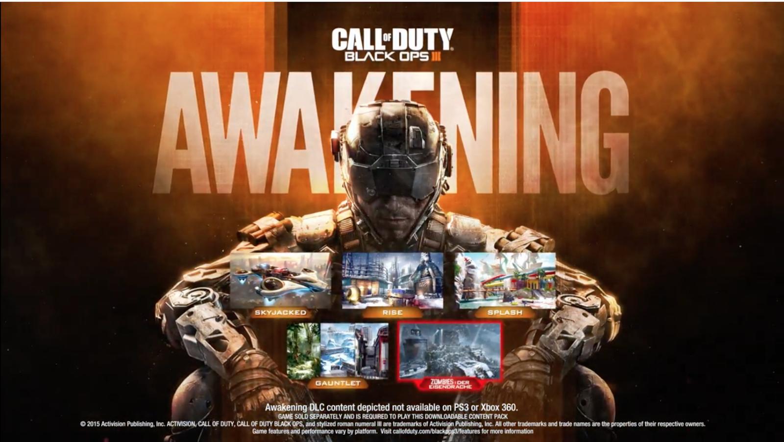 Call of Duty: Black Ops III - Awakening (Video Game Review ... Call Of Duty Black Ops Zombies All Maps on