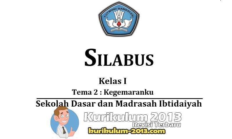 Update Download Silabus SD/MI Kelas 1-6 Kurikulum 2013 Terbaru - GRATIS - Silabus Kurikulum 2013 SD