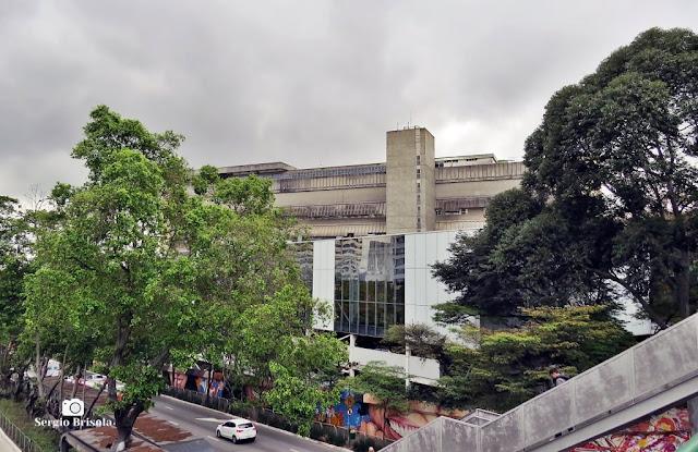 Vista de parte do complexo do Hospital das Clínicas - Cerqueira César - São Paulo