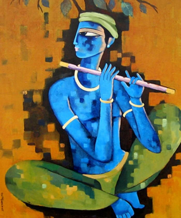 Sekhar Roy. Современный индийский художник 19