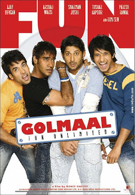 Golmaal: Fun Unlimited (2006) DVDRIP 720P Free download