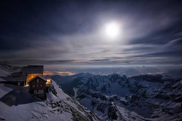 Mountain station by Kai Böhm