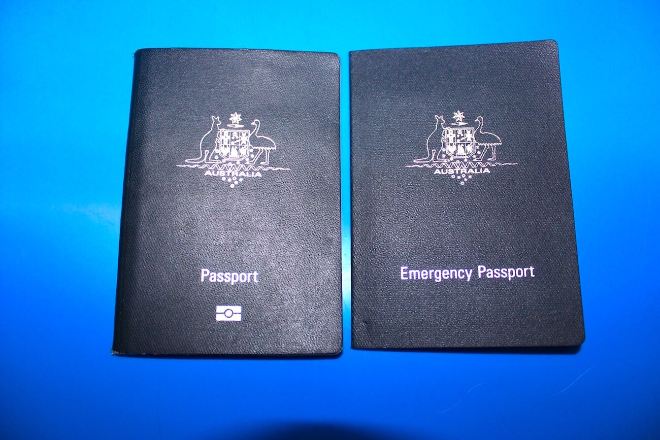 my passport and emergency passport