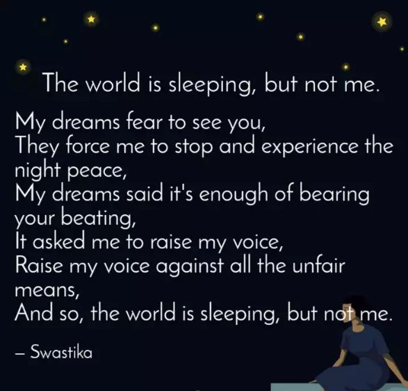 SLEEPLESS NIGHTS , EMOTIONAL QUOTES - Quotes