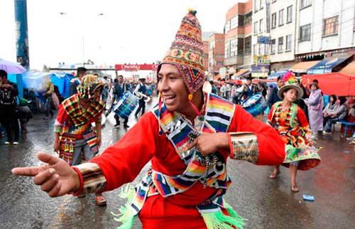 En vivo Entrada Folklórica Universitaria UPEA 2016