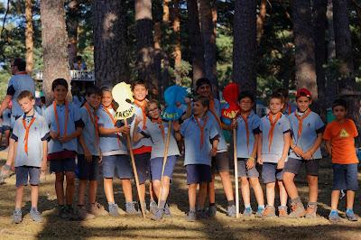 grupo de scouts imagen