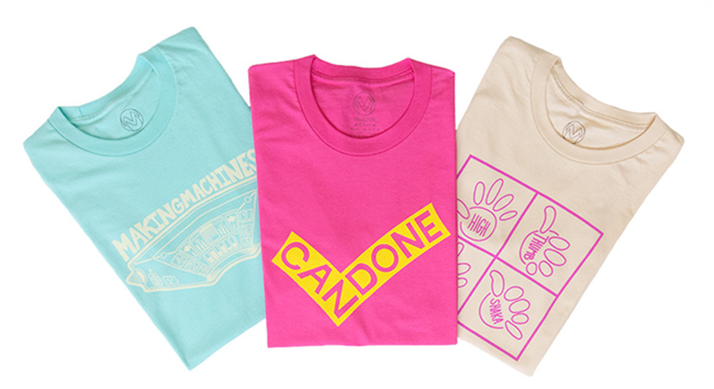 Bright & Fun Shirts from The TMW Collective