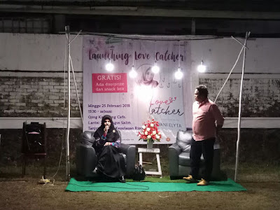 blogger tanjungpinang launching buku love catcher