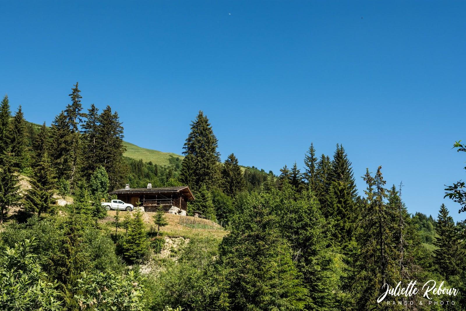 Chalet montagnard en Savoie