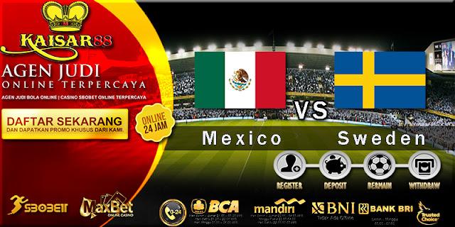 Prediksi Bola Jitu Mexico vs Sweden 27 Juni 2018