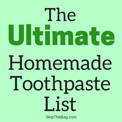 several recipes for homemade toothpaste