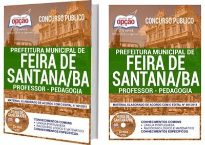 Apostila Concurso Prefeitura de Feira de Santana BA 2018 - Professor