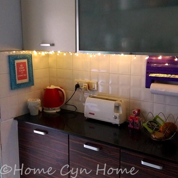 Dark Kitchen At Night kitchen night light diy - home cyn home