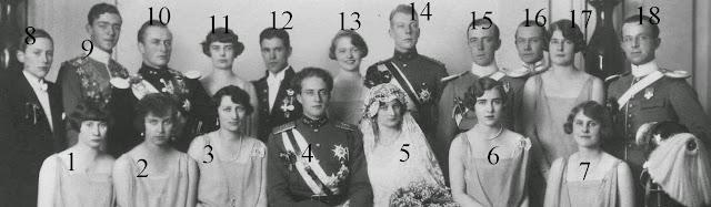 Mariage civil de Léopold  de Belgique et d'Astrid de Suède