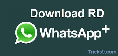 Download RD whatsapp+ 7.21 version