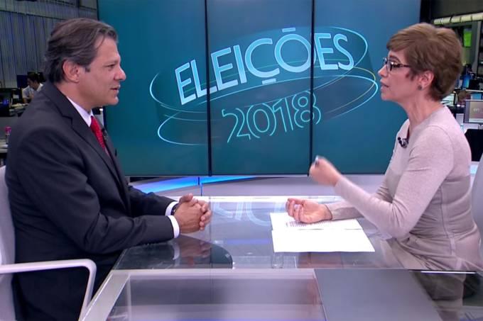 Haddad relativiza influência de Lula em seu crescimento nas pesquisas