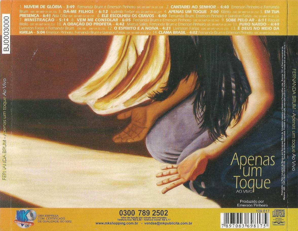o cd de fernanda brum apenas um toque