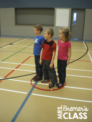 Fun gym game for Kindergarten PE