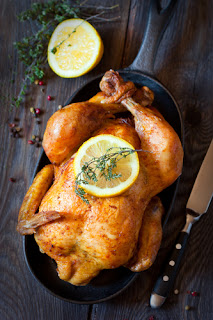 How to make Rotisserie Chicken in the Crockpot Slow Cooker. I've made this so many times, I lost track! I also like to keep the bones to make soup for the next day.
