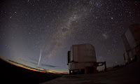 Comet Lovejoy Paranal